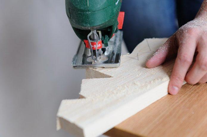 Faire un flan en bois