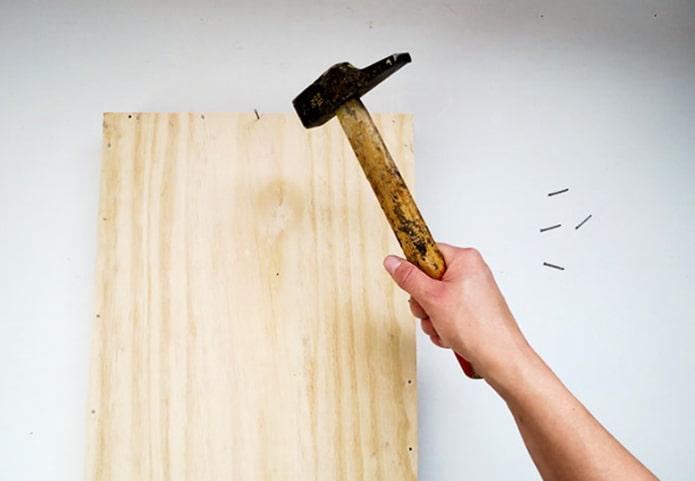Nous réparons les murs