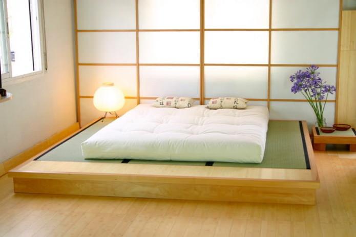 lampadaire de style japonais