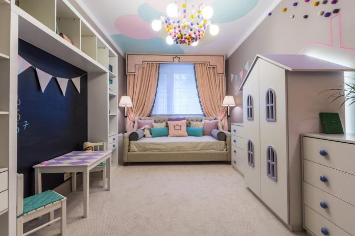 zonage chambre d'enfant