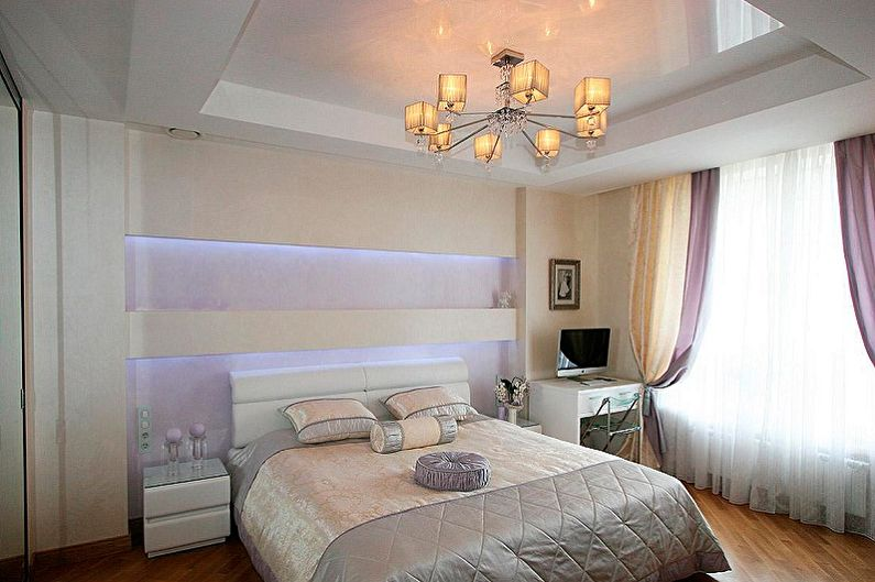Conception de petite chambre - Finition de plafond