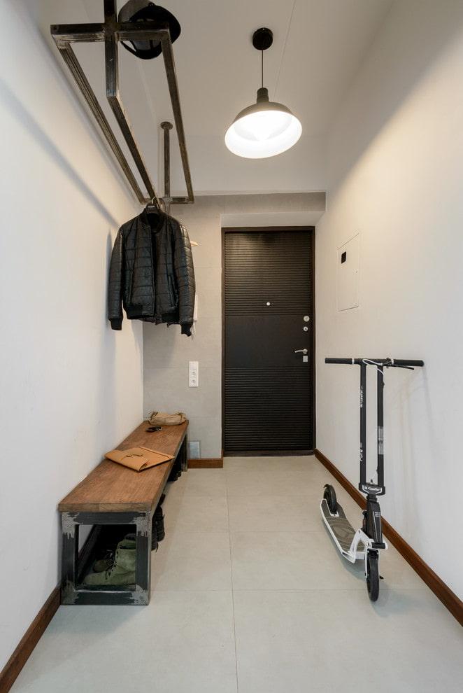 conception de couloir de style loft