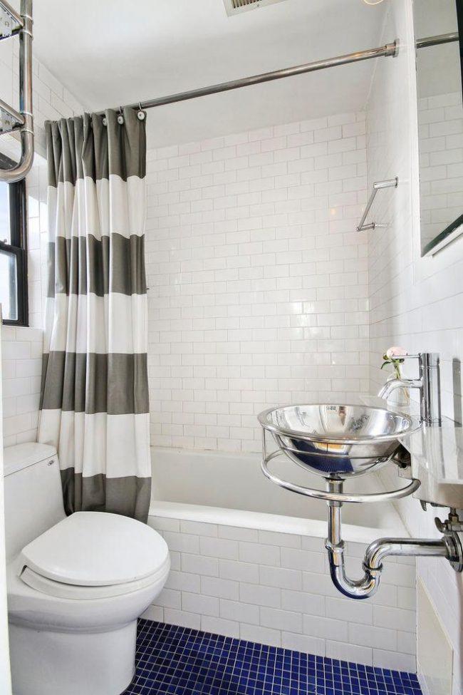 Belle salle de bain de style scandinave