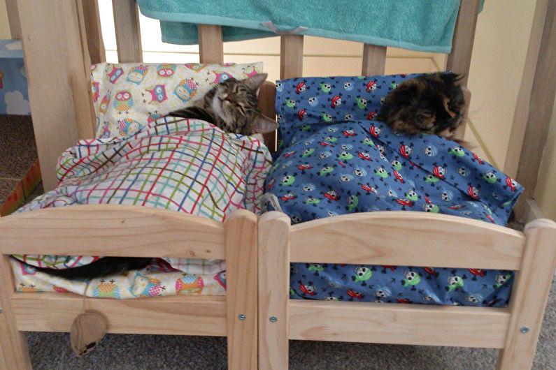 Maison pour chat - Meubles miniatures