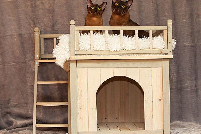Maison pour chats - Maison-cabines