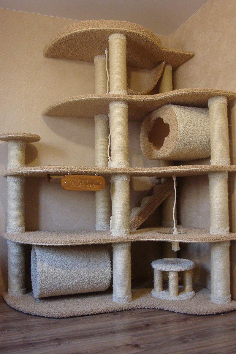 Maison pour chats - Complexes de jeux