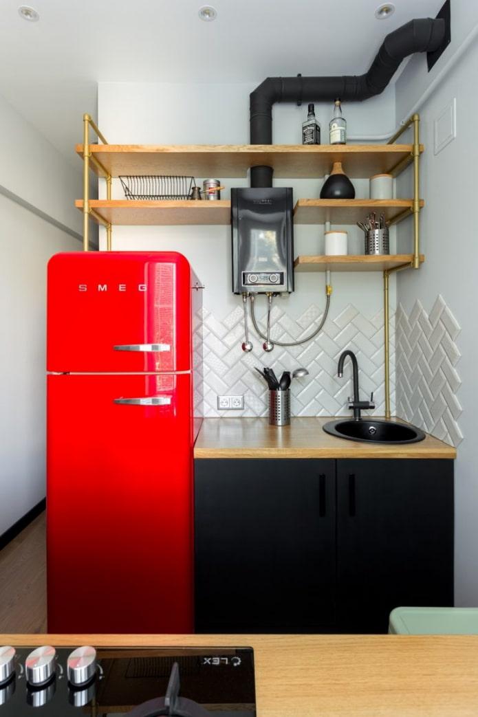 réfrigérateur lumineux