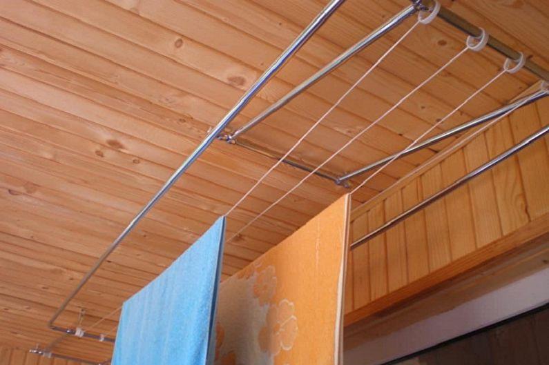 Sèche-linge au plafond - Matériaux de fabrication
