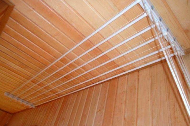 Conceptions de séchoirs de plafond - Séchoirs coulissants
