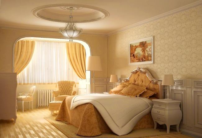 Papier peint en soie pour une chambre cosy