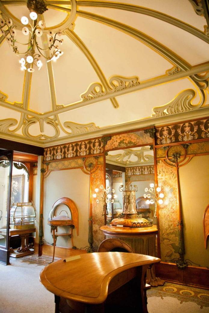 plafond en forme de dôme dans la maison