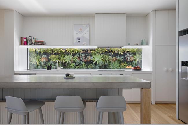L'utilisation compétente de la doublure unie rendra votre cuisine encore plus confortable