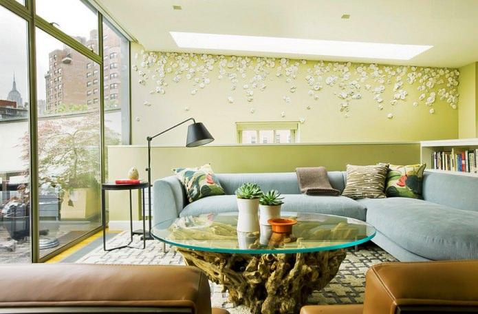 Eco-style dans le salon