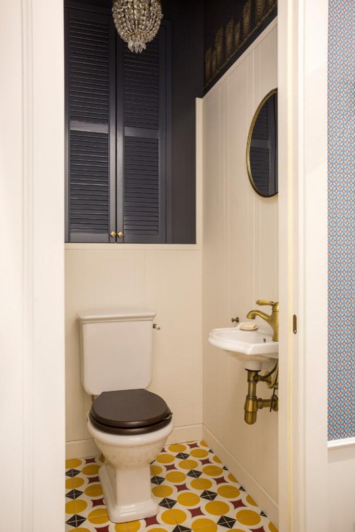 sol de toilette lumineux