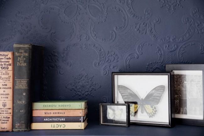 Le papier peint en vinyle pouvant être peint résiste jusqu'à 10 couches de peinture