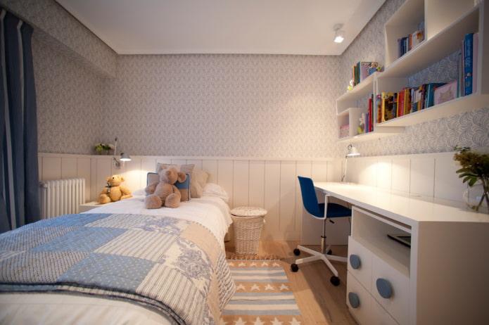 chambre pour un garçon