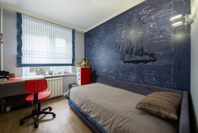 Chambre pour les écoliers
