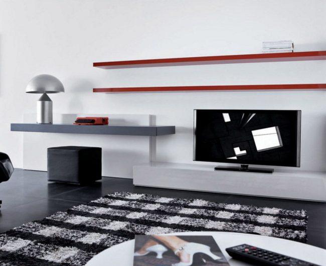 Étagère TV minimaliste