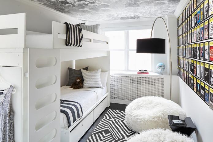 chambre 9 places pour deux enfants