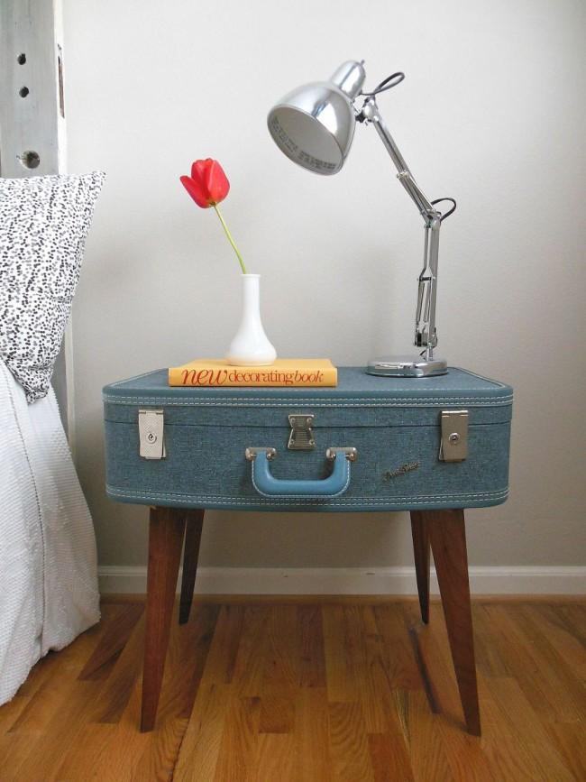 Curbstone - valise dans un style campagnard