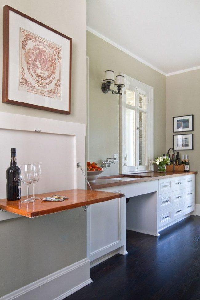 Solution de conception originale : relief creux peu profond pour table suspendue