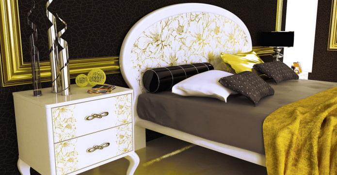 Tête de lit ovale