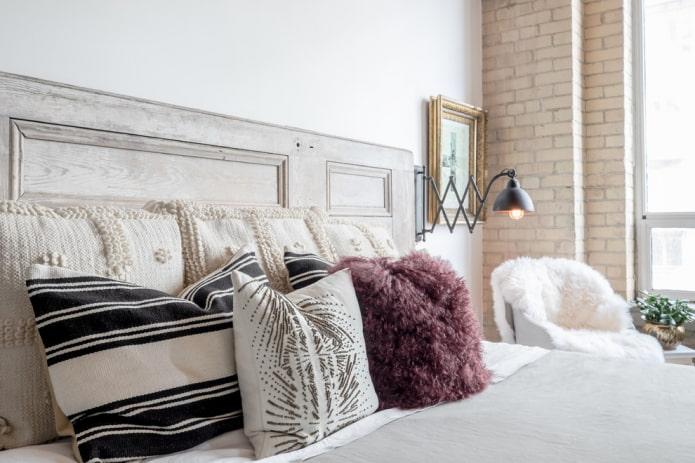 Tête de lit vintage