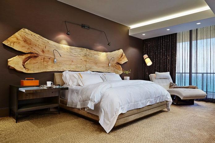 tête de lit en dalle