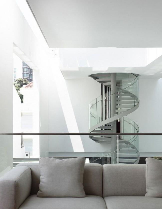 Escalier de style moderne