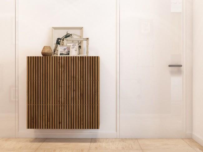 Une boîte décorative en bois est peut-être la solution la plus esthétique