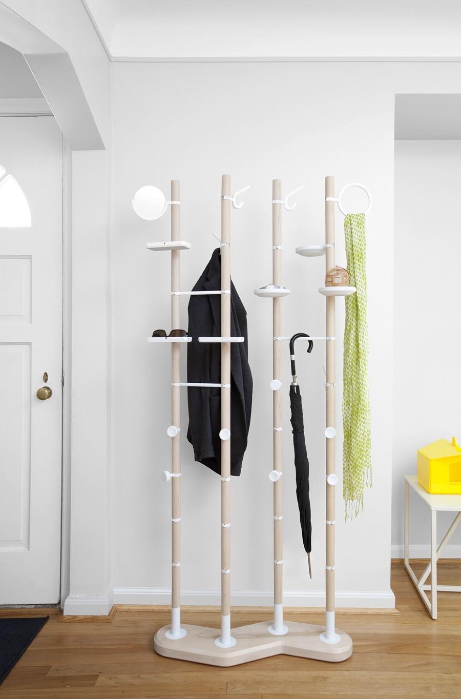 Photo 6 - Vous pouvez choisir un cintre pour tout style d'intérieur, pour tout type de vêtements, accessoires et même chaussures