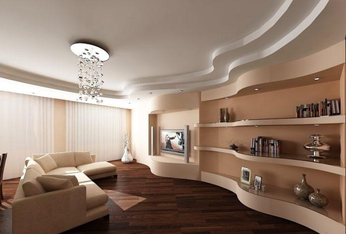 Plafond étagé