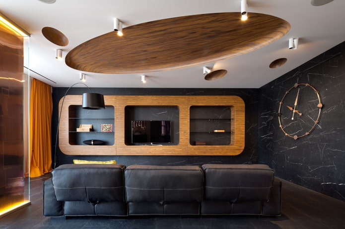 plafond ovale