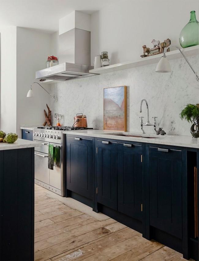 Style scandinave à l'intérieur de la cuisine