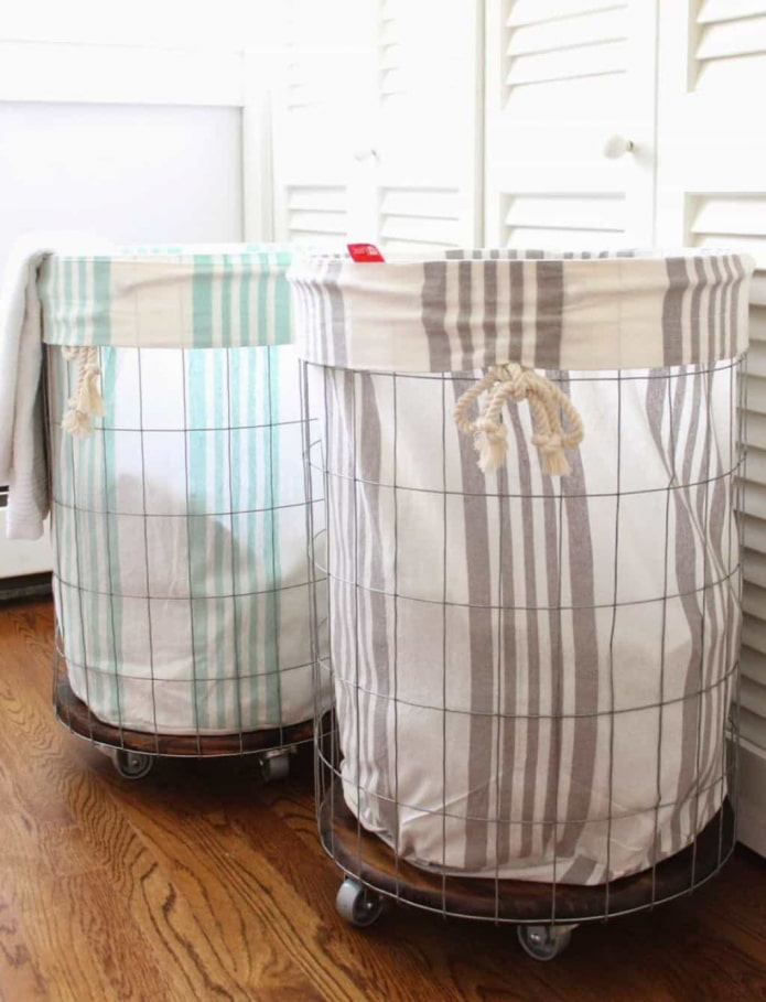 Paniers textiles