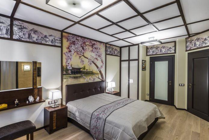 Peindre les murs de la chambre (sakura)