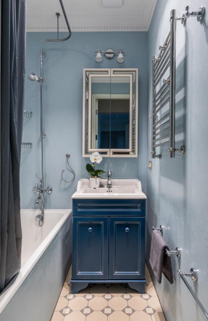 conception de salle de bain classique