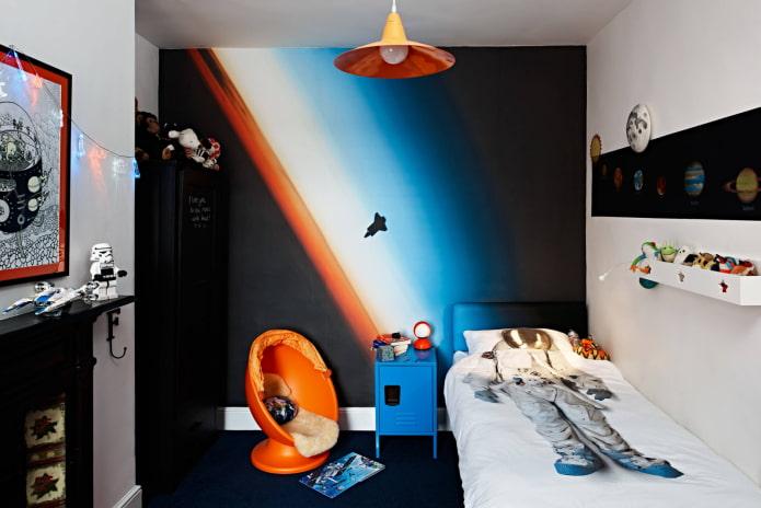 Chambre de style espace