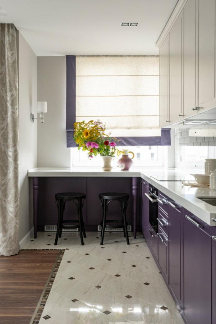 coin cuisine avec fenêtre