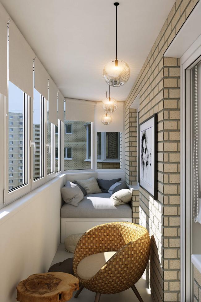 N'hésitez pas à fantasmer, car l'espace balcon peut être utilisé à votre guise