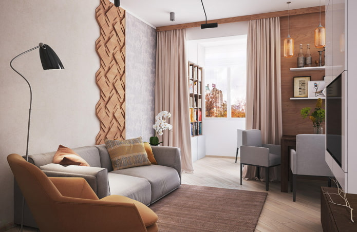 aménagement d'un appartement de 35 places