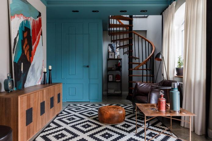 meubler le couloir à l'intérieur de la maison