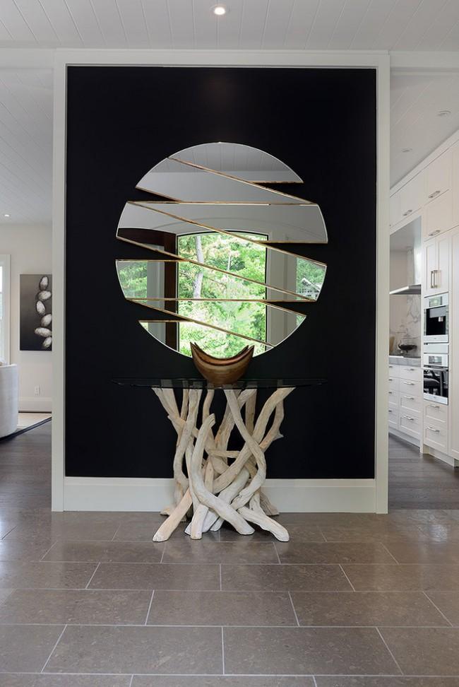 Une atmosphère chaleureuse et confortable pour votre appartement, maison ou bureau peut être créée à l'aide de miroirs décoratifs, car ce sont des produits sophistiqués, créatifs et élégants.