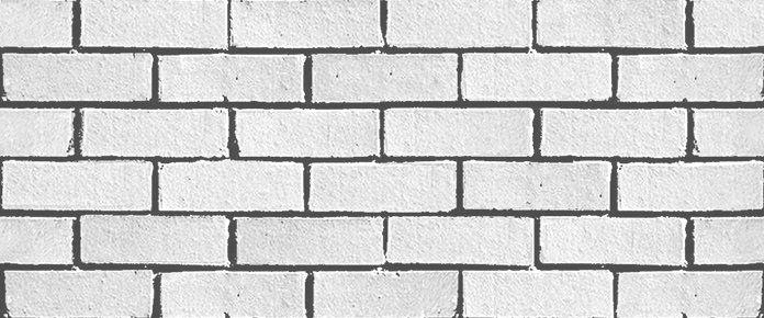 texture de brique blanche