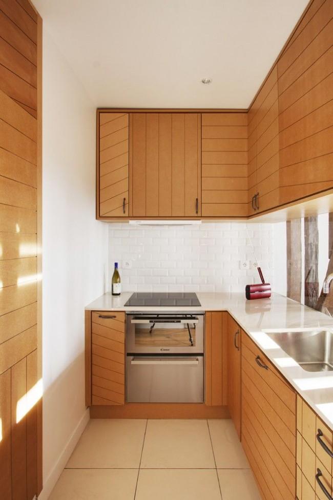 Les hottes encastrables sont une bonne option pour les petites cuisines.