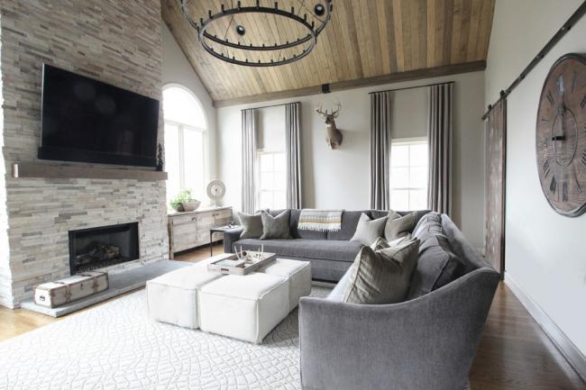 Une poutre en bois aidera à empêcher le téléviseur de chauffer