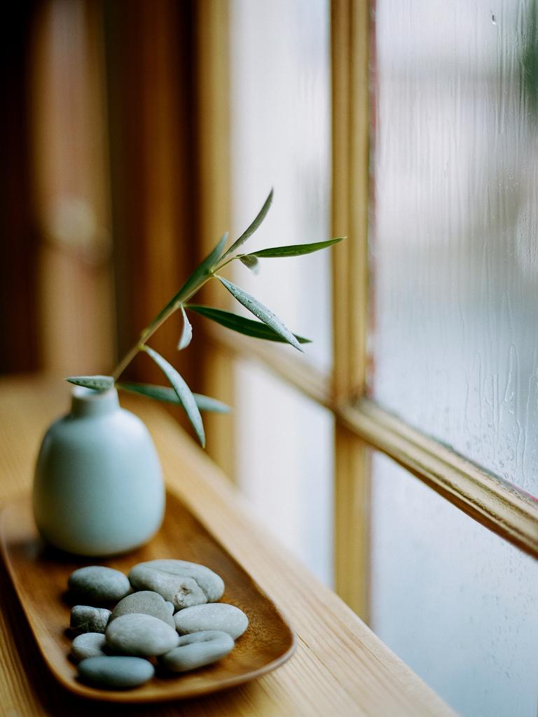 Les détails intérieurs de style japonais sont gracieux et soignés