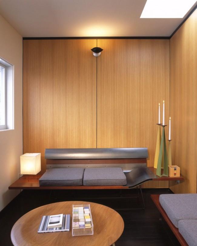 Un petit salon Art Nouveau peut aussi être cosy