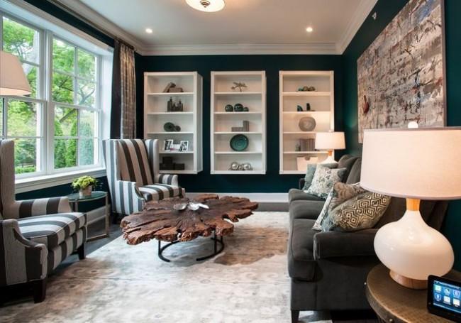 Dans les pièces rectangulaires, une grande attention doit être portée à la disposition des meubles.