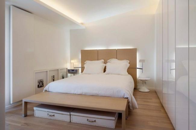 Magnifique intérieur d'une petite chambre
